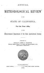 Annual Meteorological Review of the State of California