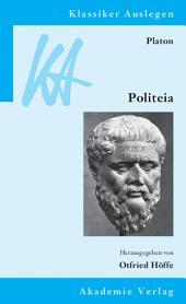 Platon: Politeia: Ausgabe 3