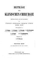 Bruns  Beitr  ge zur klinischen Chirurgie PDF