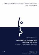 Unfolding the Semiotic Web in Urban Discourse