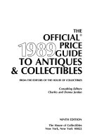 The Official Guide to Antiques and Collectibles, 1989