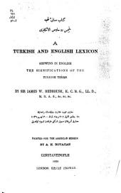 A Turkish and English Lexicon: Shewing in English the Significations of the Turkish Terms, Part 2, Pages 1000-2224