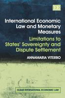 International Economic Law and Monetary Measures PDF