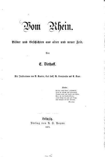 Vom Rhein PDF