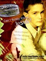 Can I Really Know Jesus  PDF