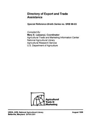 Directory of Export and Trade Assistance PDF