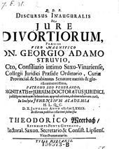 De jure divortiorum defendente Theodorico Meerbach