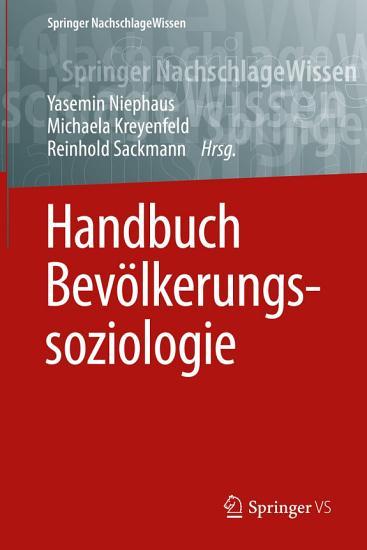 Handbuch Bev  lkerungssoziologie PDF