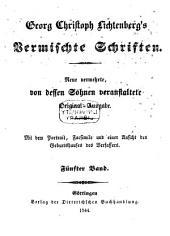 Vermischte Schriften: Bände 5-6