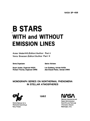 B Stars with and Without Emission Lines PDF