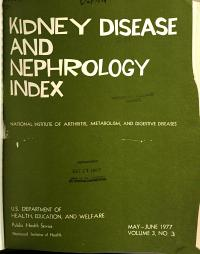 Kidney Disease and Nephrology Index PDF
