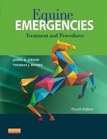 Equine Emergencies E Book PDF