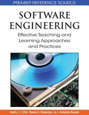 Software Engineering  Effective Teaching and Learning Approaches and Practices PDF