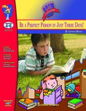 Be a Perfect Person in Just Three Days Lit Link Gr. 4-6