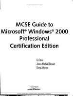 MCSE Guide to Microsoft Windows 2000 Professional PDF