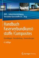 Handbuch Faserverbundkunststoffe Composites PDF