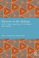 Moscow in the Making PDF