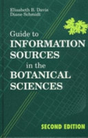 Guide to Information Sources in the Botanical Sciences PDF