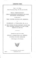 Trial Proceedings  trial Transcript Excerpts and Tape Recording Transcripts  in the Case of the United States of America V  Harrison A  Williams  Jr   Et Al  in the United States District Court for the Eastern District of New York  Crim No  80 CR 00575 PDF