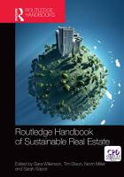 Routledge Handbook of Sustainable Real Estate PDF