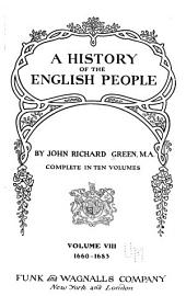 A history of the English people: Volume 8