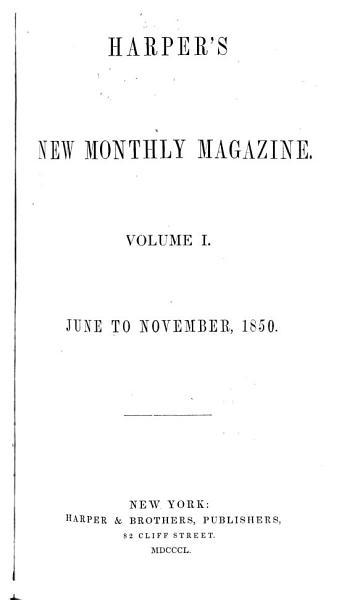 Harper s New Monthly Magazine