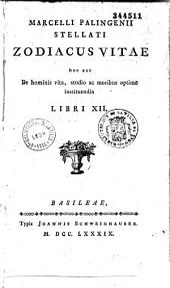 Marcelli Palingenii ... Zodiacus vitae