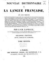 Nouveau dictionnaire de la langue française ...