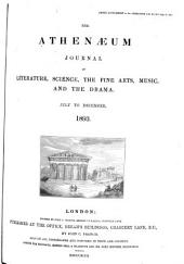 The Athenaeum: Issues 3427-3453