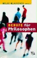 Berufe f  r Philosophen PDF