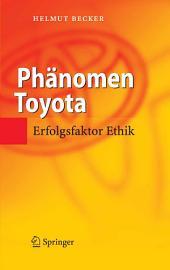 Phänomen Toyota: Erfolgsfaktor Ethik