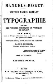 Nouveau manuel complet de typographie