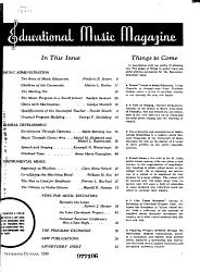 Educational Music Magazine PDF