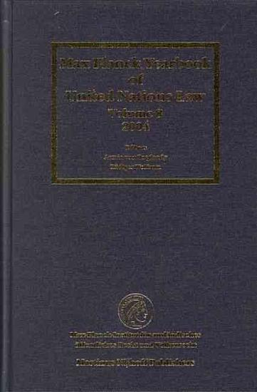 Max Planck Yearbook of United Nations Law  Volume 8  2004  PDF