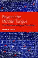 Beyond the Mother Tongue PDF