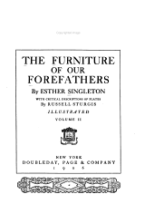 The Furniture of Our Forefathers: Volume 2