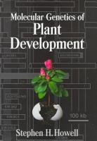 Molecular Genetics of Plant Development PDF