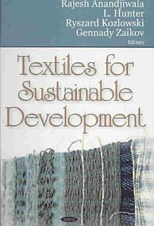 Textiles for Sustainable Development Book