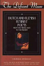 Dutch and Flemish Feminist Poems from the Middle Ages to the Present