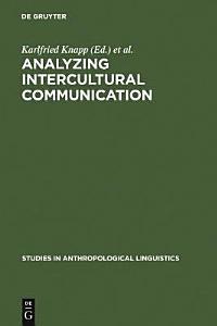Analyzing Intercultural Communication Book