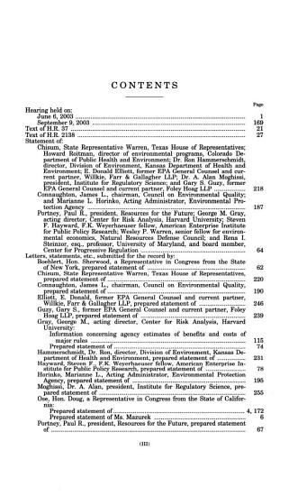 Elevation of the Environmental Protection Agency to Department Level Status PDF