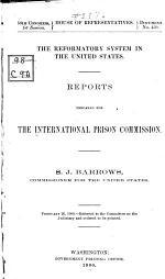 Reformatory System in U. S.