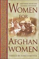 Women for Afghan Women PDF