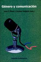 G  nero y comunicaci  n PDF