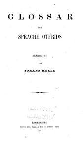 bd. Glossar der sprache Otfrids, 1881