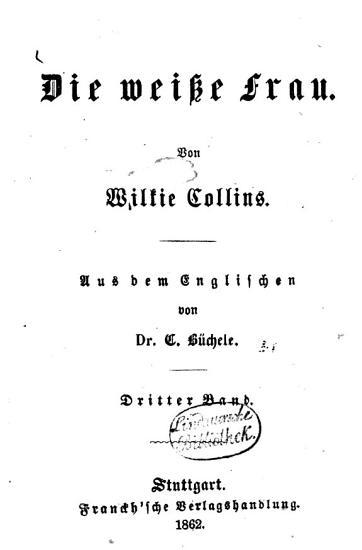 Ausgew  hlte Werke von Wilkie Collins PDF
