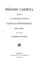 Carmina: recensuit et commentariis, Volume 25