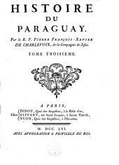 Histoire du Paraguay: Volume3