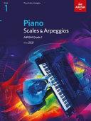 Piano Scales & Arpeggios, ABRSM Grade 1