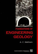Foundations Engnrng Geology PDF